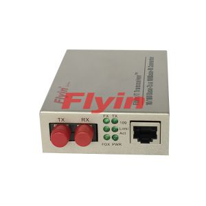 10/100M Industrial Fiber media converter with 1 RJ45 port+1 Fiber port